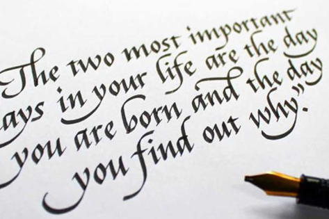 Calligraphy Writing Classes for Beginners