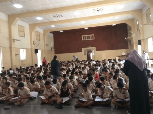 St. Vincent school handwriting seminar-3